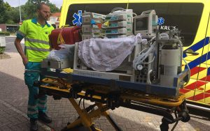 Jim op de neonatale intensive care unit