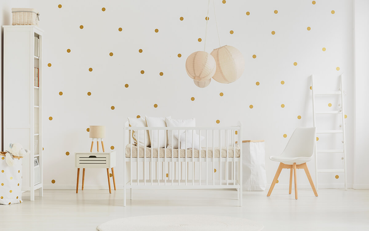 Babybed of baby wieg