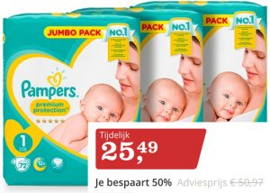 Pampers actoe