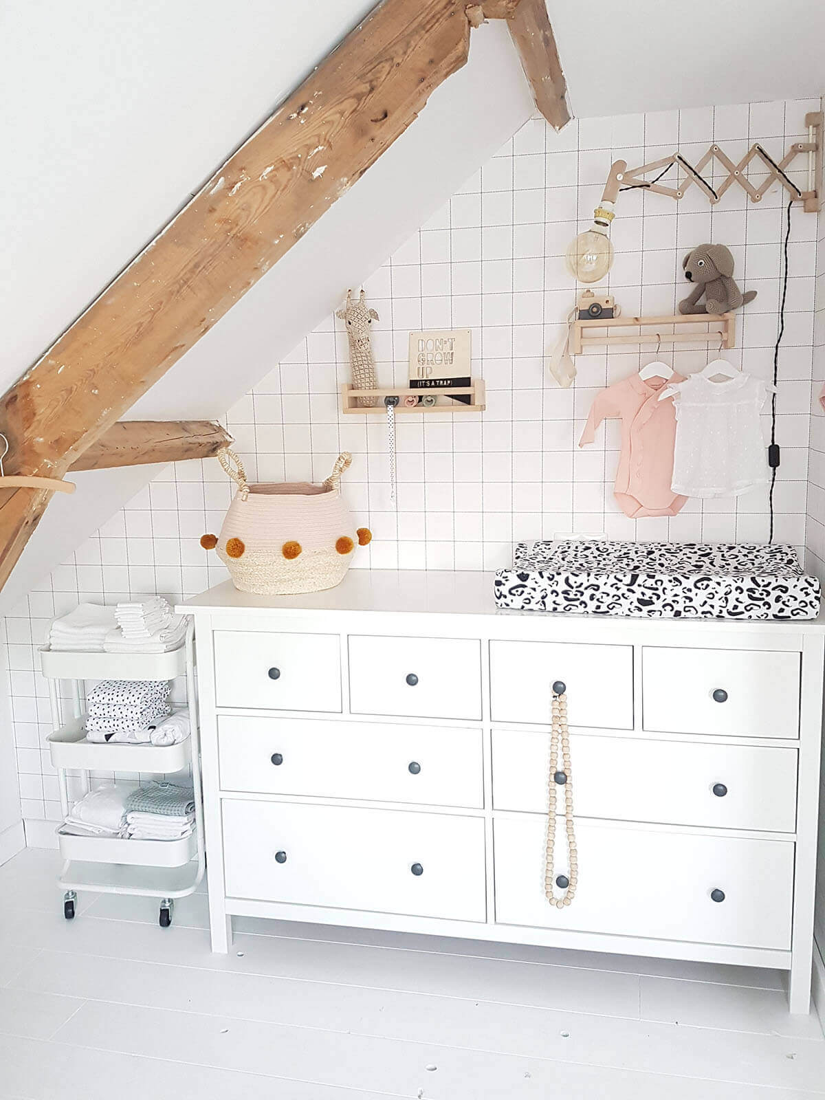 Babykamer Annemarie Adringa commode