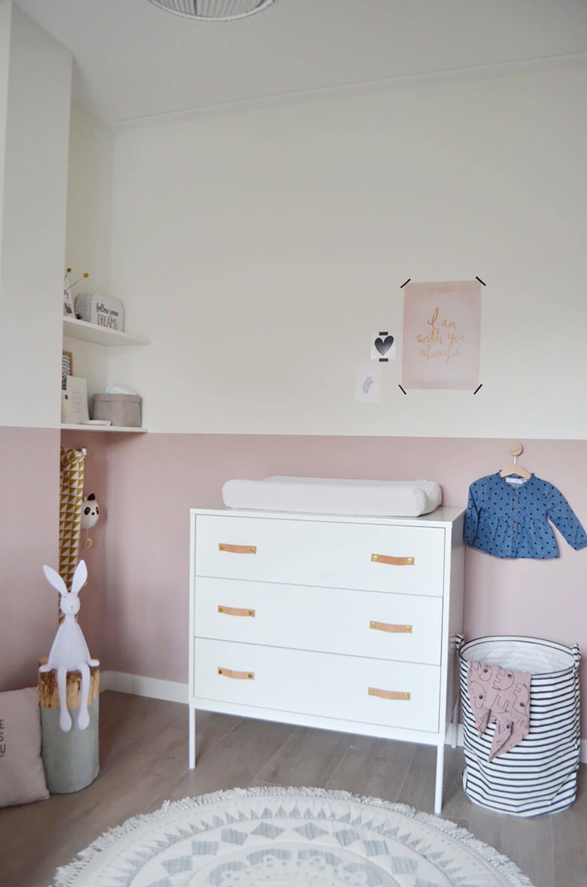 Babykamer commode