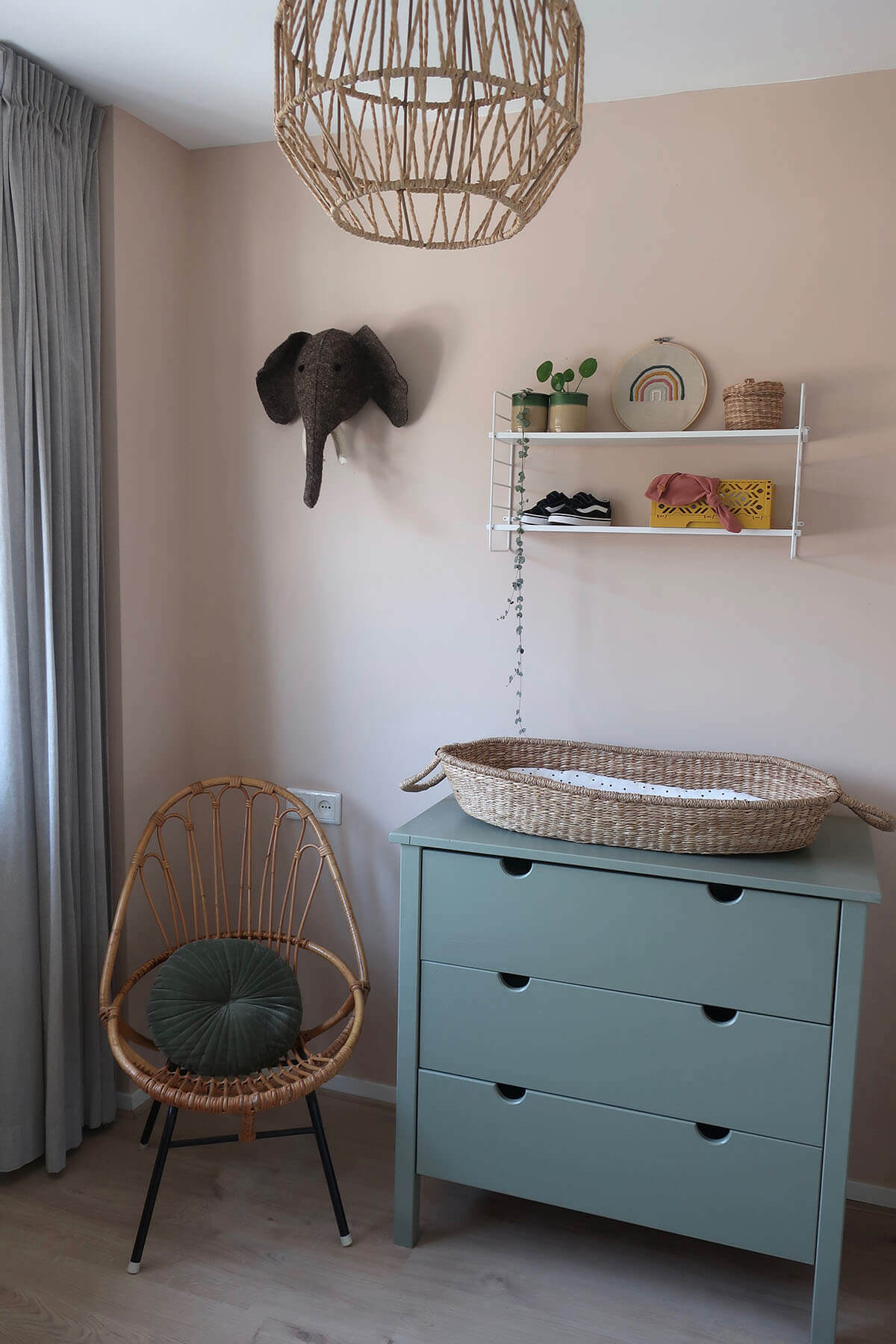 Babykamer Sanne commode