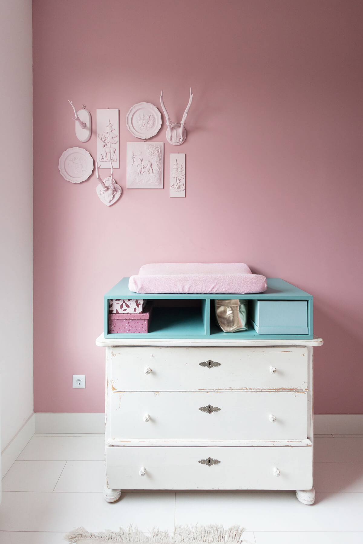 Babykamer Mila-Roos commode